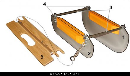 Как изготовить кораблик для ловли хариуса своими руками