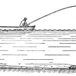 Ловля рыбы в проводку на течении