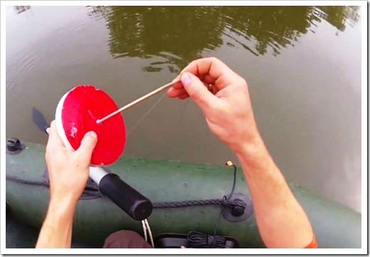 Самостоятельное изготовление кружка для ловли щуки