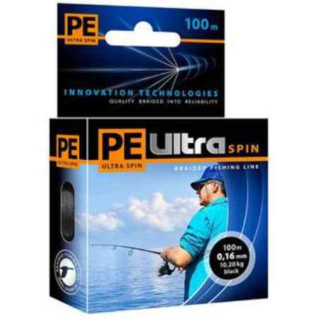 Купить Aqua PE Ultra Spin Black 100m