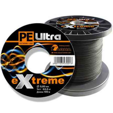 Купить Aqua PE Ultra Extreme Black 100m (1,30mm/90,00kg)