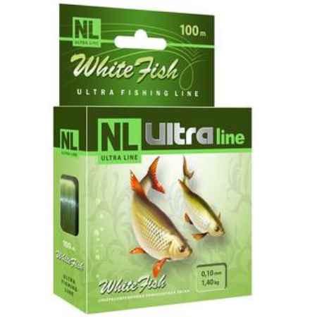 Купить Aqua NL Ultra white fish (Белая рыба) 100m (0,18mm / 3,8kg)