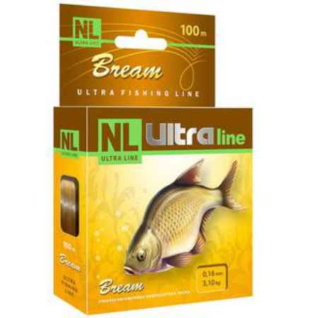Купить Aqua NL Ultra bream (Лещ) 100m (0,20mm / 4,7kg)