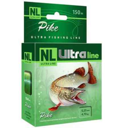 Купить Aqua NL Ultra pike (Щука) 150m (0,25mm / 6,7kg)