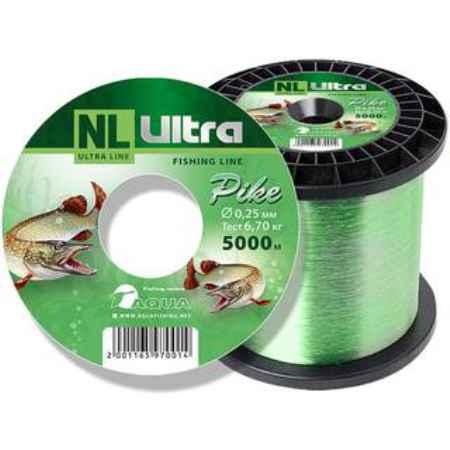 Купить Aqua NL Ultra pike (Щука) 5000m (0,30mm / 8,6kg)