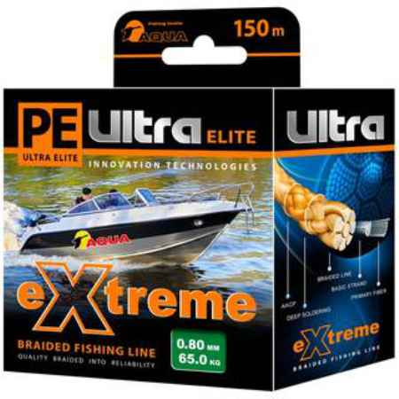 Купить Aqua  PE Ultra Extreme Green 150m