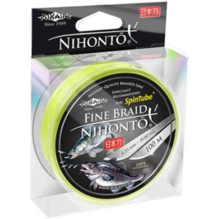 Купить Mikado NIHONTO FINE fluo 0,12 (100 м) - 8.80 кг.