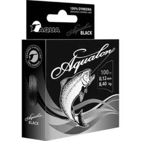 Купить Aqua  Aqualon Black 100m (0,20mm/15,70kg)