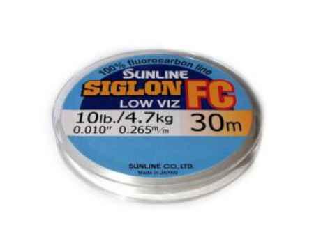 Купить Sunline SIGLON FC 30m Clear 0.140mm 1.4kg