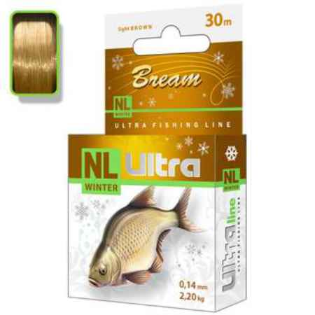 Купить Aqua  NL Ultra bream (Лещ) 30m (0,25mm/ 6,7kg)