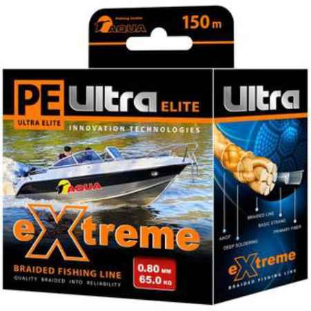 Купить Aqua PE Ultra Extreme Red 150m (1,00mm/71,00kg)