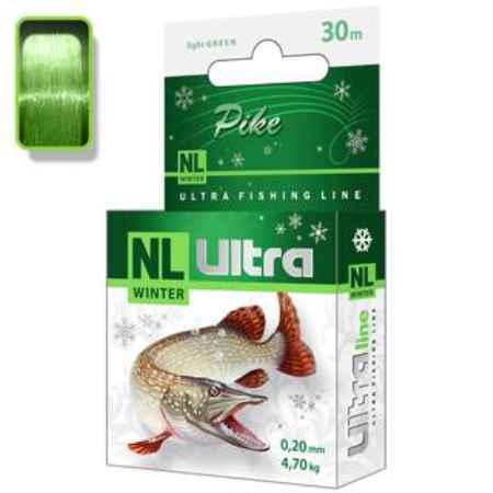 Купить Aqua NL Ultra pike (Щука) 30m (0,25mm/ 6,7kg)