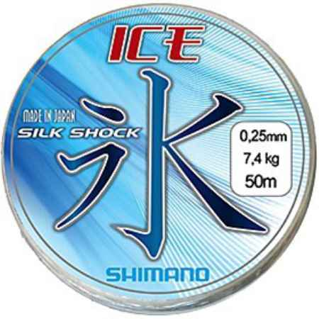 Купить Shimano Ice Silk Shock 50 м ICE5028