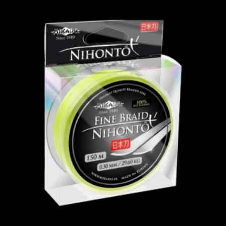 Купить Mikado NIHONTO FINE BRAID FLUO 0,23 (150м) 20,20кг