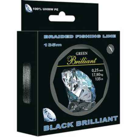 Купить Aqua Black Brilliant 135m (0,25mm/17,90kg)