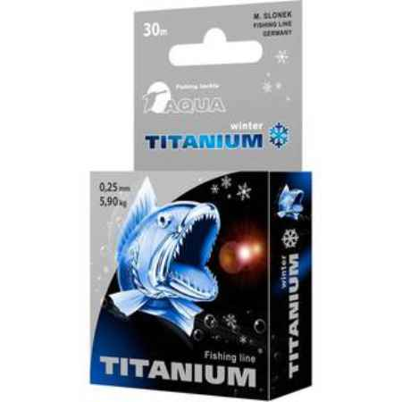 Купить Aqua Titanium 30m (0,18mm / 3,4kg)