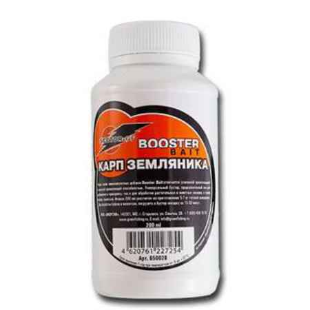 Купить GF Booster Bait карп земляника 0.2л