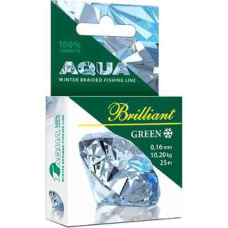Купить Aqua Green Brilliant зимний 25m (0,14mm/8,50kg)