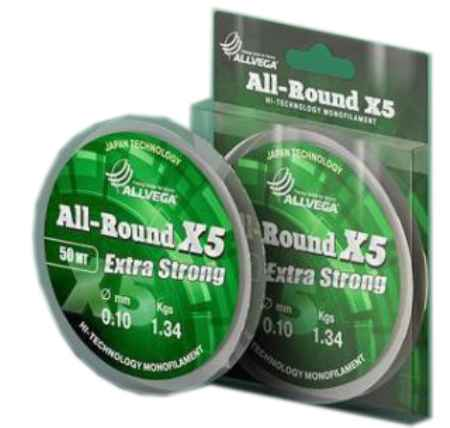 Купить Allvega ALL-ROUND X5 50м 0,22