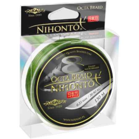 Купить Mikado NIHONTO OCTA 0,28 green (150 м) - 27.40 кг.