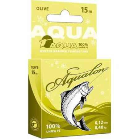 Купить Aqua Aqualon Olive зимний 15m (0,16mm/10,20kg)