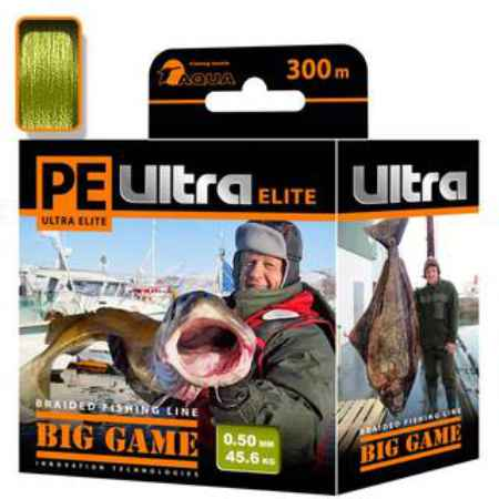 Купить Aqua PE Ultra Elite Big Game Olive 300m