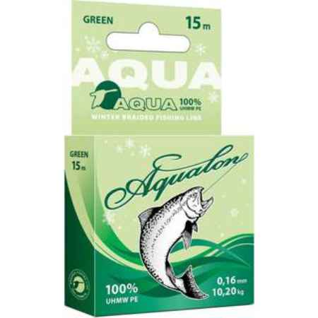 Купить Aqua Aqualon Dark-Green зимний 15m (0,12mm/8,40kg)