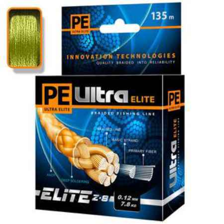 Купить Aqua PE Ultra Elite Z-8 Olive 135m (0,16mm/11,20kg)