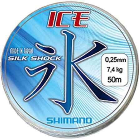 Купить Shimano Ice Silkshock 50mt 0,06