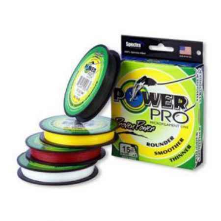 Купить Power Pro Hi-Vis Yellow 92м 0,08mm