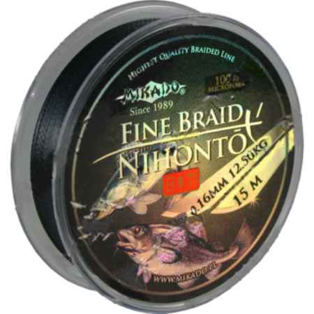 Купить Mikado NIHONTO FINE BRAID BLACK