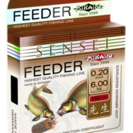 Купить Mikado Леска Mikado SENSEI FEEDER 0,16 (150м)