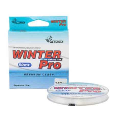 Купить Allvega  Winter Pro 50m 0.248mm (8.9кг) прозрачная