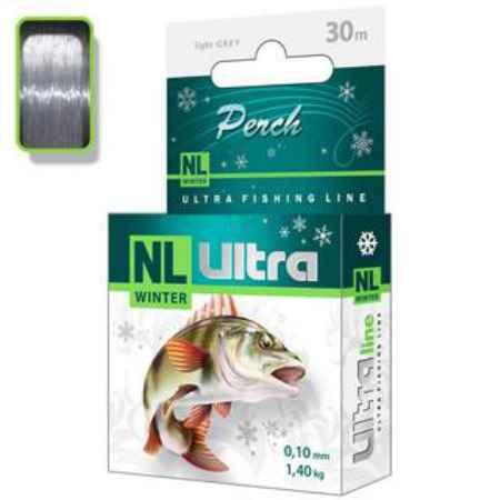 Купить Aqua  NL Ultra perch (Окунь) 30m (0,22mm/ 5,9kg)