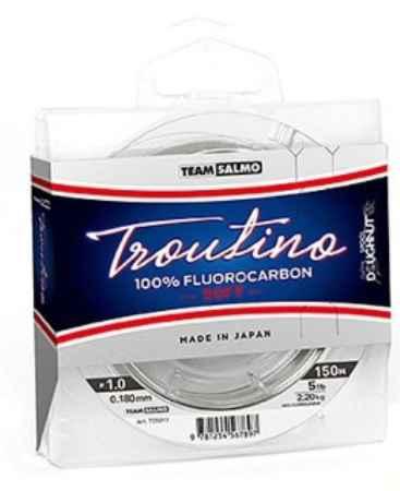 Купить Salmo Fluorocarbon Troutino Soft