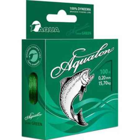 Купить Aqua  Aqualon Dark-Green 100m (0,14mm/9,90kg)