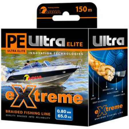 Купить Aqua PE Ultra Extreme Black 150m (1,00mm/71,00kg)