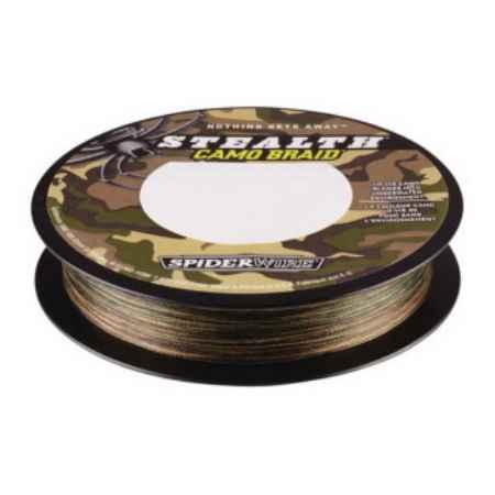 Купить Spiderwire Stealth Camo 0.2мм, 18кг, 110м 1152383