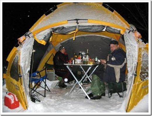 Размер палатки имеет значение