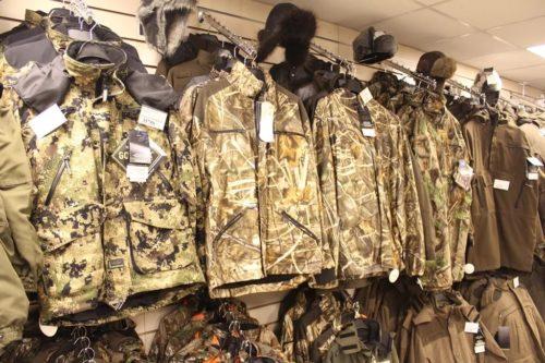 весенняя охотничья одежда