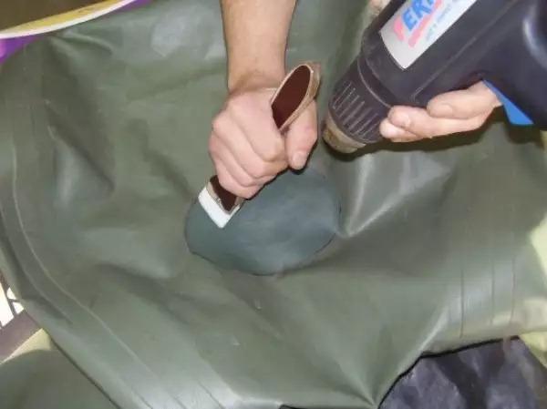 клей волна для резиновых лодок