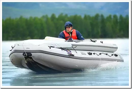 Наиболее распространённые виды надувных лодок