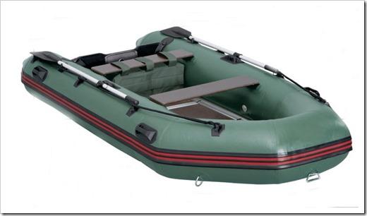 Критерии подбора надувной лодки