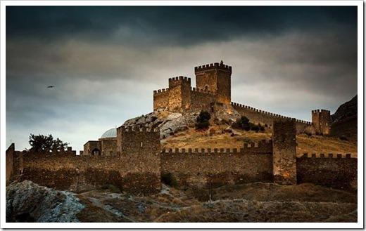 Ливадийский дворец и Генуэзская крепость