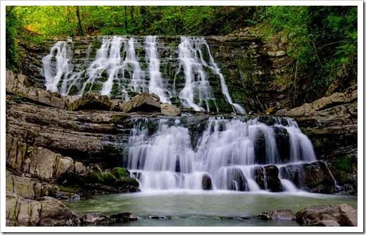 Агурские водопады и водопады Лазаревского района