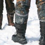 Как выбрать зимние сапоги для рыбалки