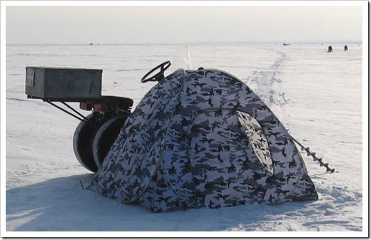 Материал и размеры палатки