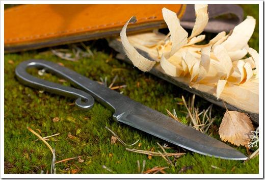 Кованые ножи в различных модификациях