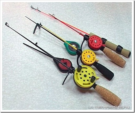 Снасти для зимней рыбной ловли от Azor