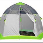 Как выбрать зимнюю палатку